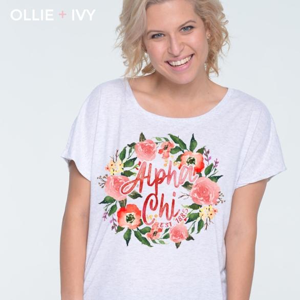 Olive's Scarlet Floral Wreath   Ollie + Ivy