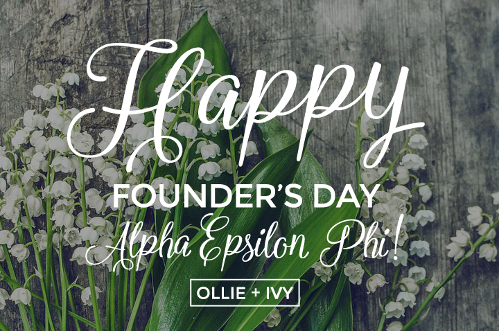 Happy Founder's Day, Alpha Epsilon Phi!
