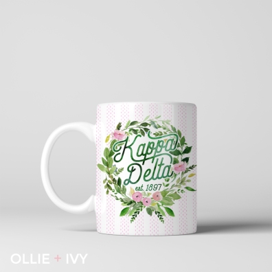 Sarah Turner White's Laurel Wreath | Coffee Mug