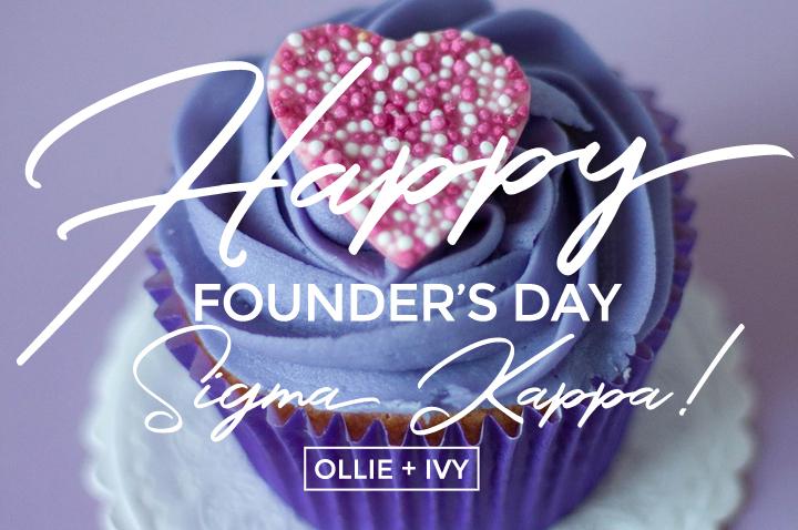 Happy Founder's Day, Sigma Kappa!