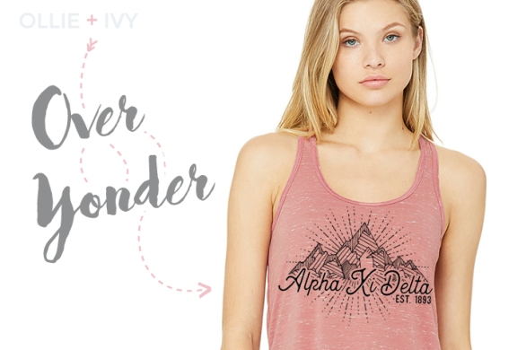 Over Yonder Sorority Shirt   Ollie + Ivy