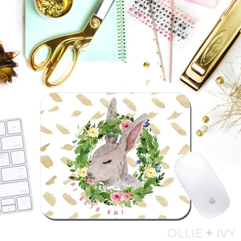 What's So Bunny?! Mouse Pad | Ollie + Ivy