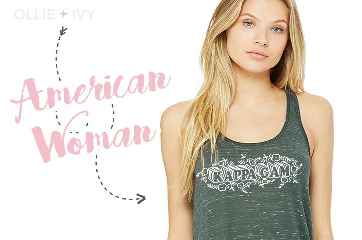American Woman | Kappa Gam | Ollie + Ivy