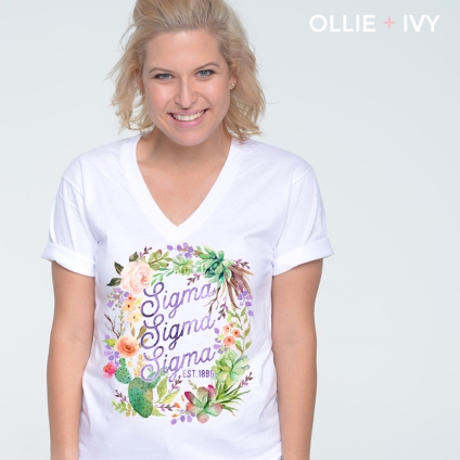 Sallie Jackson Michie's Floral Wreath | Ollie + Ivy